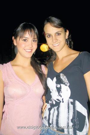 Paulina Giacomán y Miriam Murra.