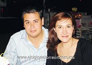 Ignacio Pámanes y Adriana Fernández de Pámanes.