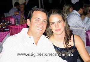 Alejandro Yarza y Velia Martínez de Yarza.