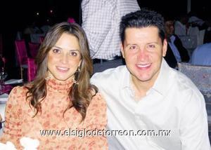 Sandra Hoffman de Kuri y Antonio Kuri González.