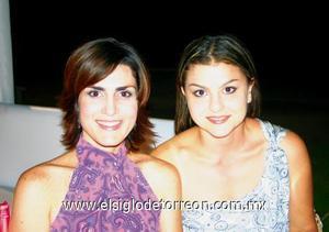 Mónica Gómez de Nahle y Mayra Dávila de De Cayón.