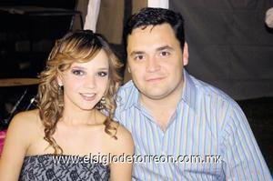 Ale Nahle y Carlos Mijares.