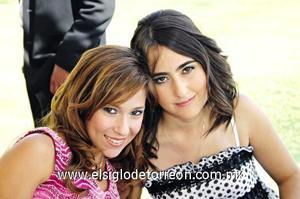 Marcela Amarante y Melissa Arrambide.