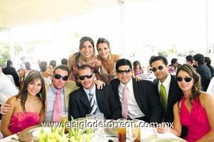 Paola Guerrero, Diego y Aldo Verástegui, Abelardo de la Fuente, Mauricio Ramón, Bárbara Madero, Laila Murra y Adriana Agüero.