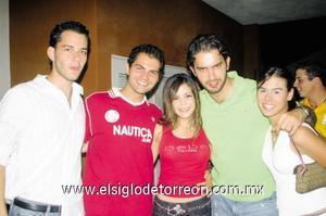 Giorgio Aronis, Rubén Castillo, Lydia Cárdenas, Andrés González Treviño y Evelyn Cuellar.