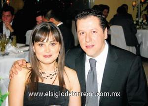 Gabriela de Aguilera y Gabriel Aguilera Romero.