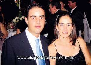Alfredo Máynez Gil y Marusa Fernández.