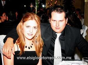 Brenda Dávila Villar y Gabriel Zermeño Martínez.