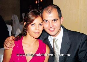 Adriana Sosa y Daniel Armendáriz.