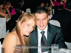Cristy Sesma y Bernardo Mendoza.