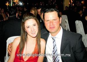Natalia Mitre y Alfonso Ornelas.