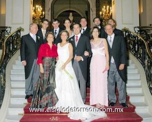 Familias Garza Ramos y Mayo Alcocer