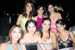 Sofía Zarzar, Ana Cepeda, Mariana Sánchez, Paty Lugo, Ale Maisterrena, Sofía López y Ana Sofía González.