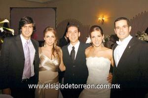 Jaime Murra, Celina Cepeda, Jorge Díaz, Alejandra Larrínaga e Iñigo Belausteguigoitia.