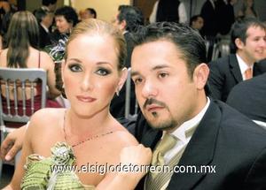 Ana Laura Berlanga de Rosas y Andrés Rosas.