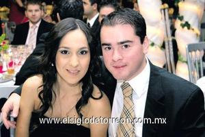 Paty Reyes y Luis Olivares