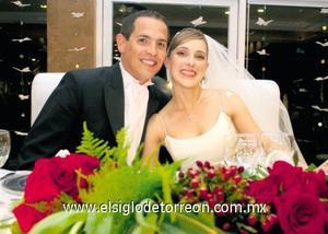 <I>UNIDOS PARA SIEMPRE</I><P> Guillermo Garza Borrego y Bárbara Berlanga Villarreal.