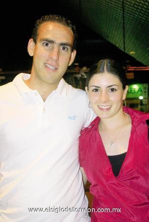 Lalo y Mariana Gómez.