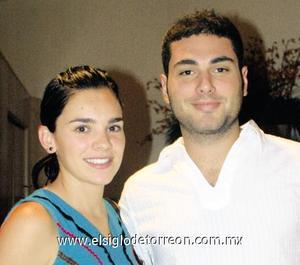 María Elvira Garza y Esteban Marcos.