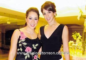 Izhar y Cristina Giacomán.