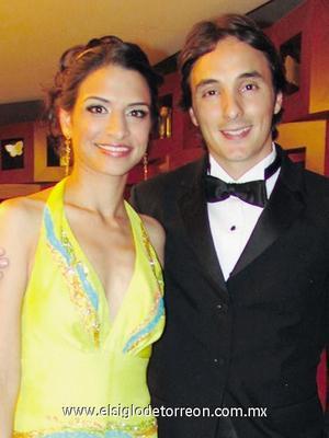 Cecilia Murra Marroquín y Jorge del Valle.