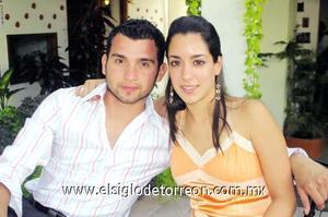 José Alberto Domínguez y Daniela Natera Canedo.