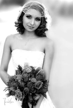 Dra. Érika Orpinel Almanza, el día de su boda con el Dr.Roberto Sánchez Moreno.