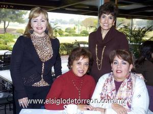 30122006   Lety de Abusaid, Rosy de Esguinca, Edith de Olivier y Lupita de Anaya