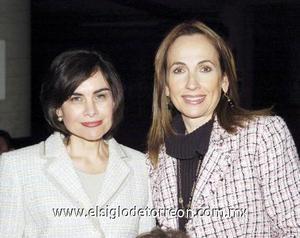 01122006  Cecilia Ramírez y Carmen de Hermosillo.