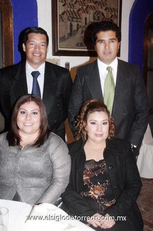 03122006  Javier López Rodríguez y Susana Vázquez de López, Marco Sánchez Galarza y Julia Ríos de Sánchez.