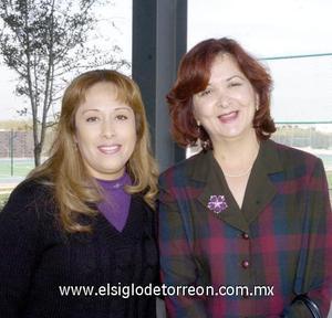 03122006  Luz Elena Contreras de Beltrán y Laura Muñoz de Beltrán.