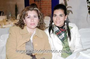 03122006  Maricela González y Selene de Díaz Couder.