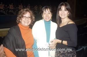 03122006  Roxana Ávalos de Sánchez, Diana de Narváez y María Rosa Belmares.