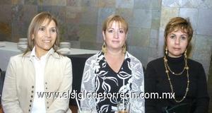 05122006 Blanca de Padilla, Diana Lozada y Silvia Flores.
