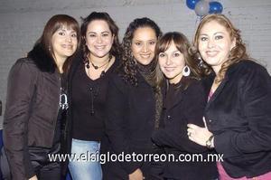 06122006 Silvana Reyes, Brenda Pérez, Lucía Morado, Liliana Rodríguez y Marisol Solórzano.