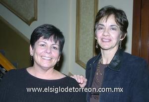 07122006 Loraine Holaschutz y Laura de Pérez.