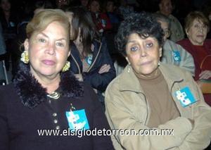 10122006  Blanca Martínez y Olga Frías.