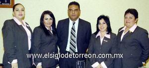 10122006  Elsa Ríos, Verónika Aguirre, Mauro Morales, Martha Echeverría y Antonia Navarro.