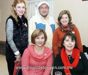 15122006  Marisol García, Jorge Torres, Martha Maeda,Socorro Martínez y Nina Eraña.