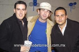 11122006 Marcelo, Ferny y Tacho.