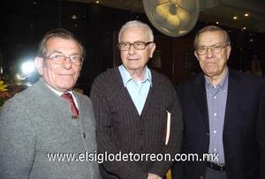 12122006 Ramón Iriarte, Alejandro Lazalde y Alfredo P. Anhert.