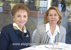 13122006 Ana María de Quintero y Flor Ogazón.