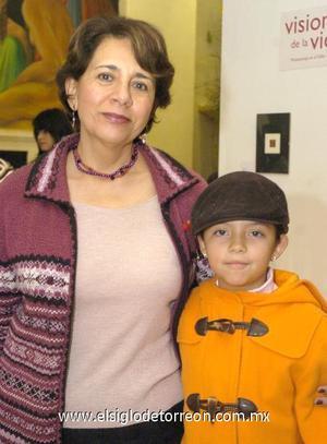 13122006 María Eugenia de Gutiérrez y Regina Ortega.