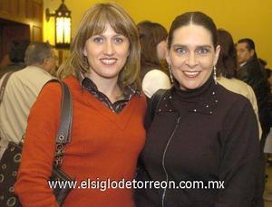 18122006 Susana de Orduño y Rosy Granados de Ruiz.
