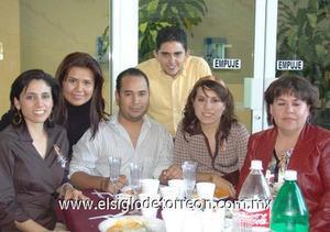 20122006 Aby Puentes, Javier Sánchez, Marisela Martínez, Claudia Córdova, Alma de Santiago y Víctor Rodríguez.