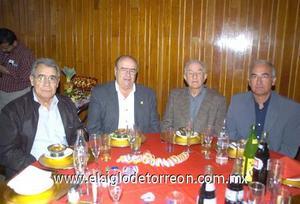 20122006 Ángel Fernández Madrazo, Tomás López Alonso, Alfredo González Lafuente y Julio González Mejías.
