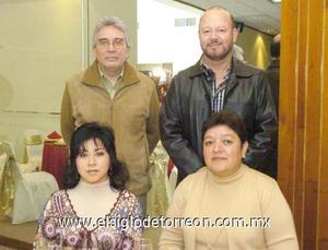20122006 Jaime Guerrero, Rodolfo Garza, Antonieta Navarro y Martha Chavarría.