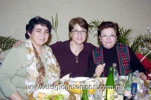 22122006  Claudia Landázuri, Clara Navarro y María Esther Silva