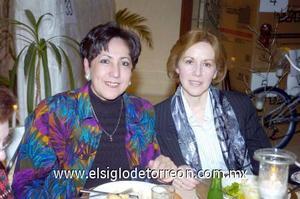 22122006  Paulina García y Patricia Piña.