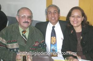 21122006 Daniel Aguilar, Jesús Jáuregui y Minerva Alvarado.